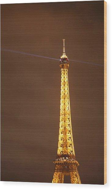 Eiffel Tower - Paris France - 011330 Wood Print by DC Photographer