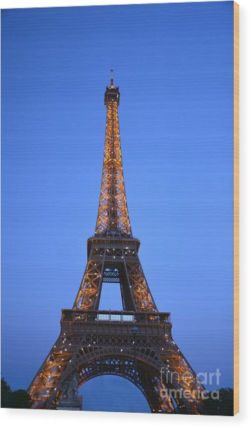 Eiffel Tower - Tour Eiffel Wood Print