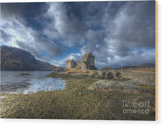 Eilean Donan Castle Scotland Wood Print by John Kelly