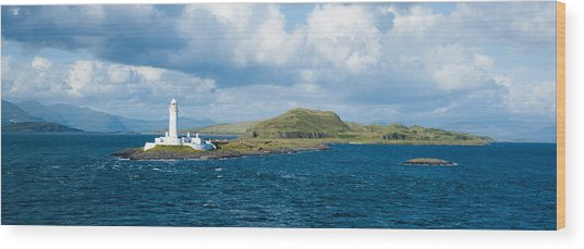 Eilean Musdale Lighthouse Wood Print
