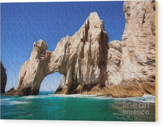 El Arco De Cabo San Lucas I Wood Print