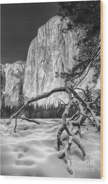 El Capitan I Wood Print