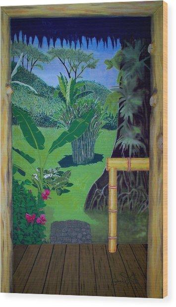 El Caribe Wood Print