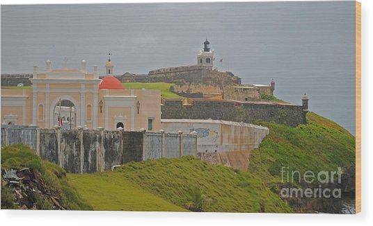 Scenic El Morro Wood Print