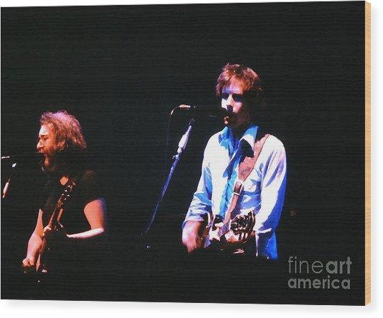 The Grateful Dead 1980 Capitol Theatre Wood Print