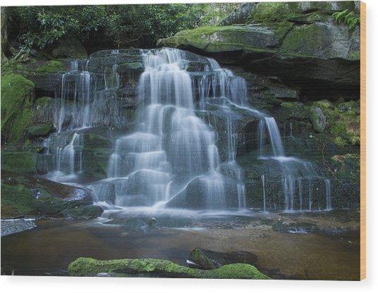 Elakala Falls Number 2 Wood Print