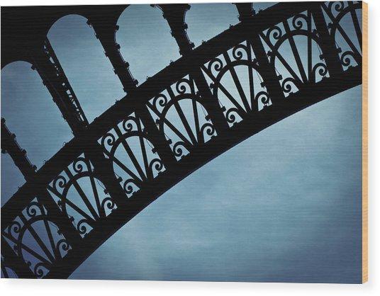 Electrify - Eiffel Tower Wood Print