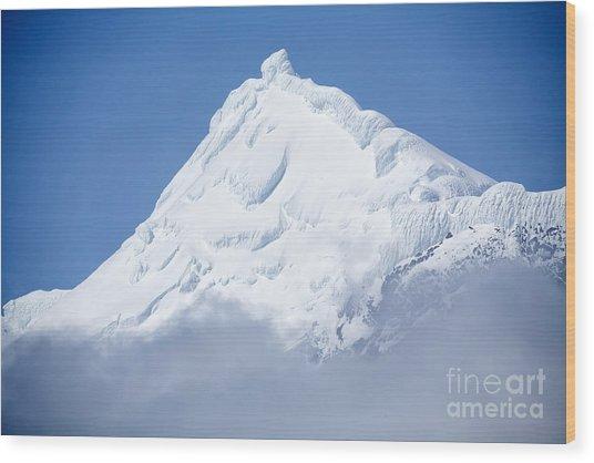 Elephant Island Mountain Peak Wood Print