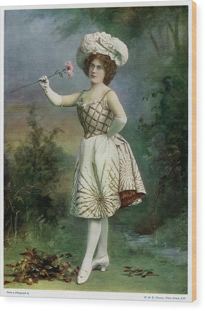 Ella Snyder, Actress In 'the Belle Wood Print by Mary Evans Picture Library