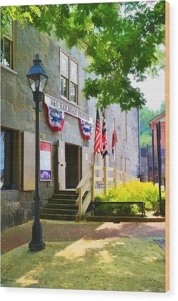 Ellicott City Station Wood Print