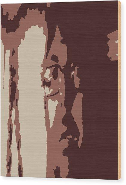 Elongated  Wood Print
