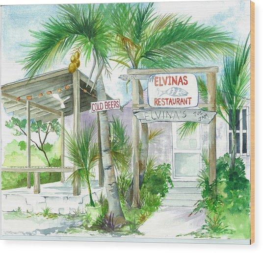 Elvinas Eleuthera Bahamas Wood Print