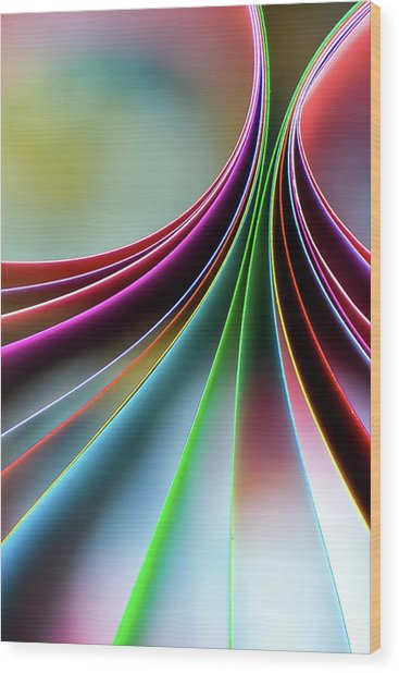 Emerge Wood Print