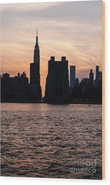 Empire On 5th Avenue Wood Print