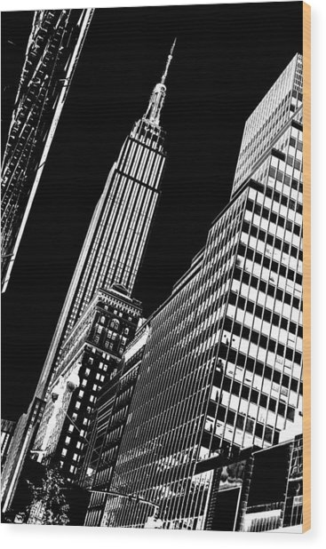 Empire Perspective Wood Print