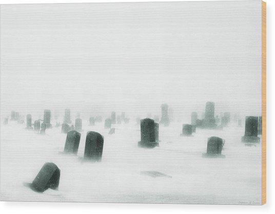 Emptiness Wood Print