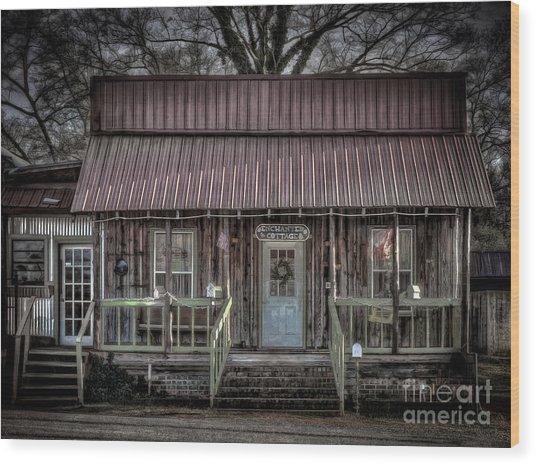 Enchanted Cottage Wood Print