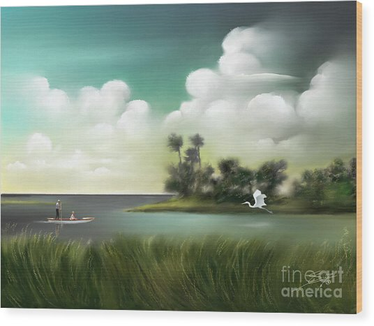Enchanted Florida Wood Print