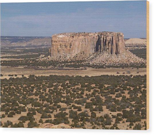 Enchanted Mesa Wood Print