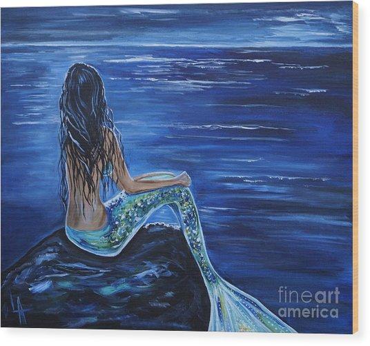 Enchanting Mermaid Wood Print