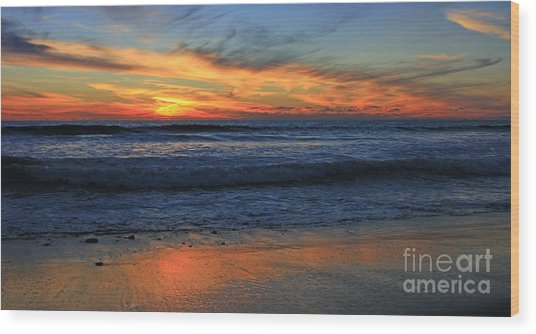 Swamis Skyburst 21x40 Inches Wood Print