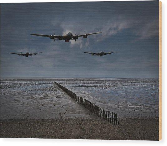 Enemy Coast Ahead Skipper Wood Print