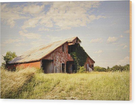 Englewood Barn Wood Print