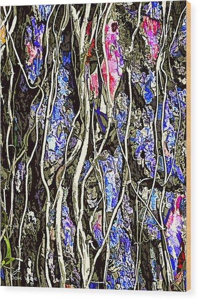 Entangle Wood Print