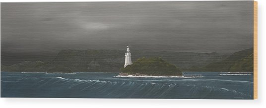 Entrance To Macquarie Harbour - Tasmania Wood Print