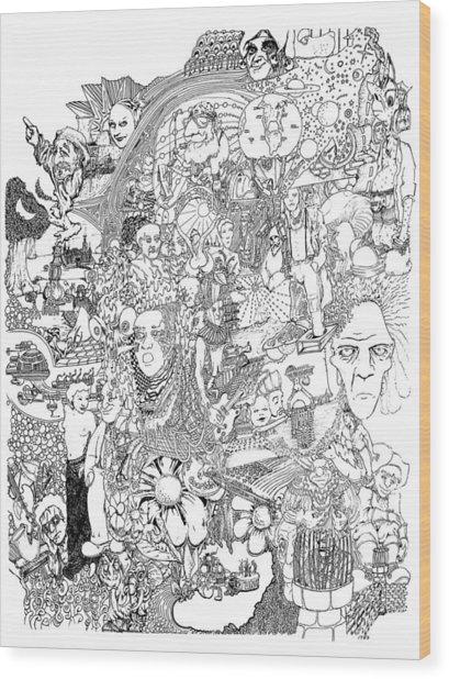 Epic 2011 Wood Print