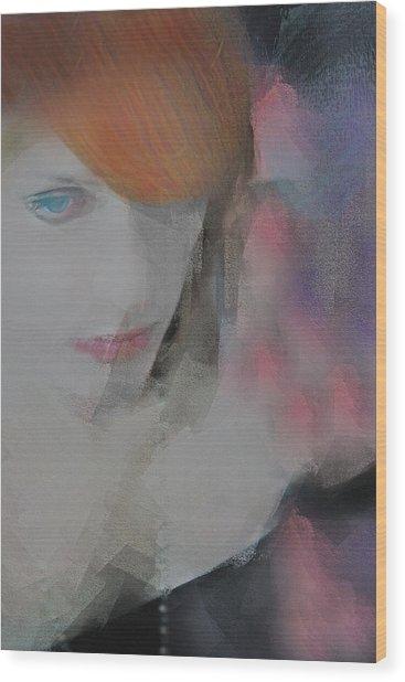 Equanimity Portrait Wood Print
