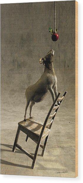 Equilibrium Wood Print