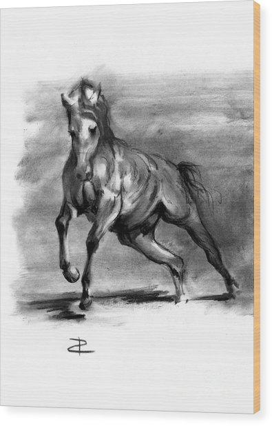 Equine IIi Wood Print