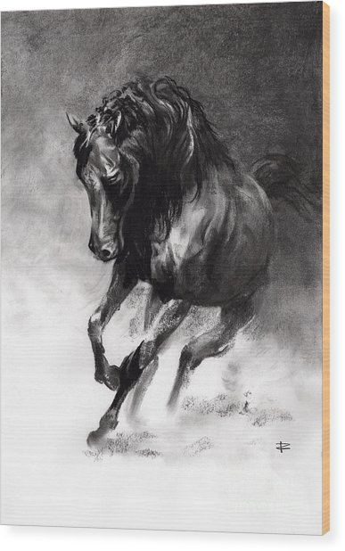 Equine Wood Print