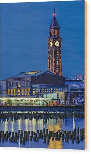 Erie Lackawanna Terminal Hoboken Wood Print