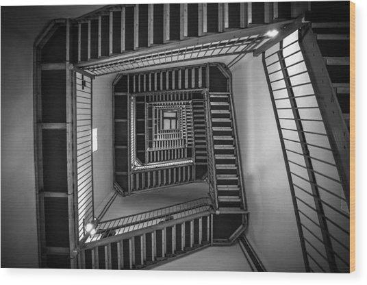 Escher Wood Print