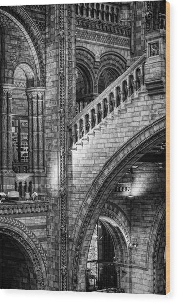 Escheresq Bw Wood Print