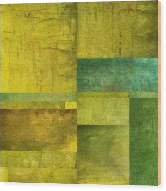 Essence Of Green Wood Print