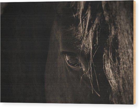 Eternal Eye Wood Print