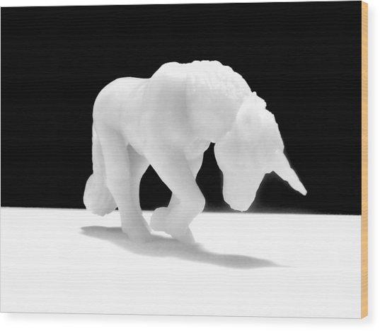 Eternelle Petite Licorne Wood Print