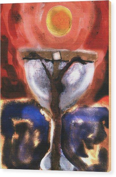 Eucharist Wood Print