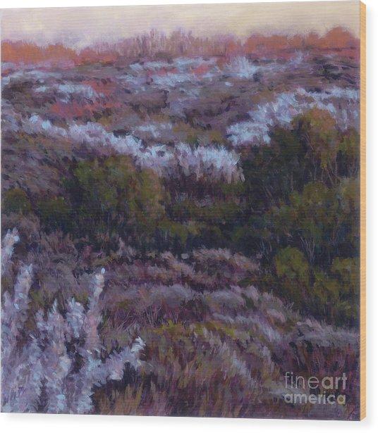 Evensong Wood Print