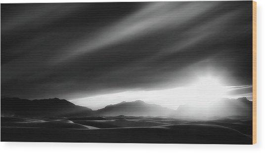 Every Sunrise Is A Gift Wood Print by Yvette Depaepe