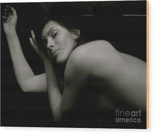 Evita You Brings Joy To Me. Naim Meod.viewed 399 Times  Wood Print by  Andrzej Goszcz