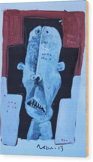 Exanimus No. 7  Wood Print by Mark M  Mellon
