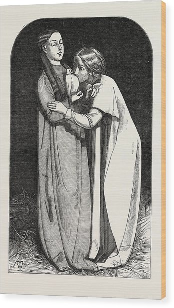 Exhibition Of The Royal Academy, The Return Of The Dove Wood Print by Millais, John Everett (1829?1896), English