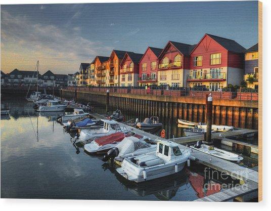 Exmouth Marina  Wood Print