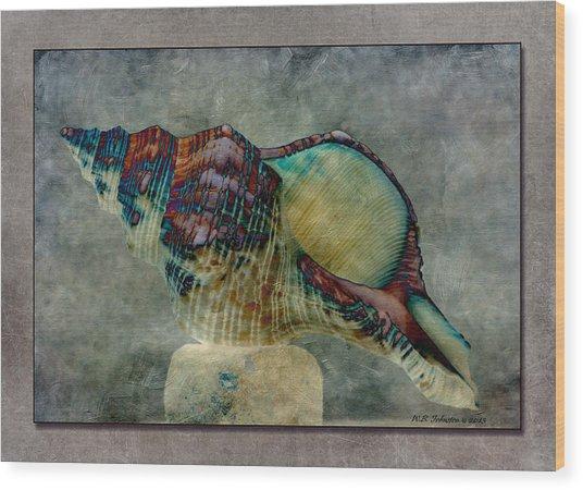 Exotishell 2 Wood Print