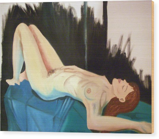 Exposed Wood Print by Cynthia Hilliard