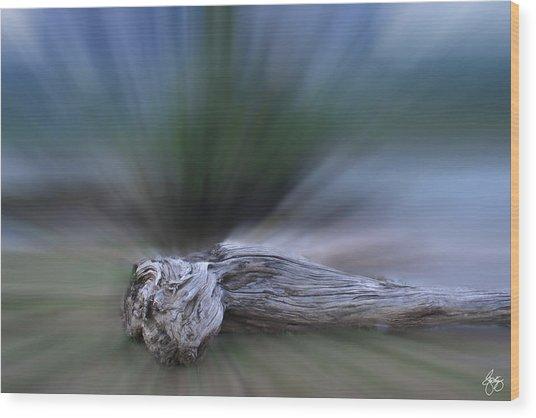 Extinction Rising Wood Print